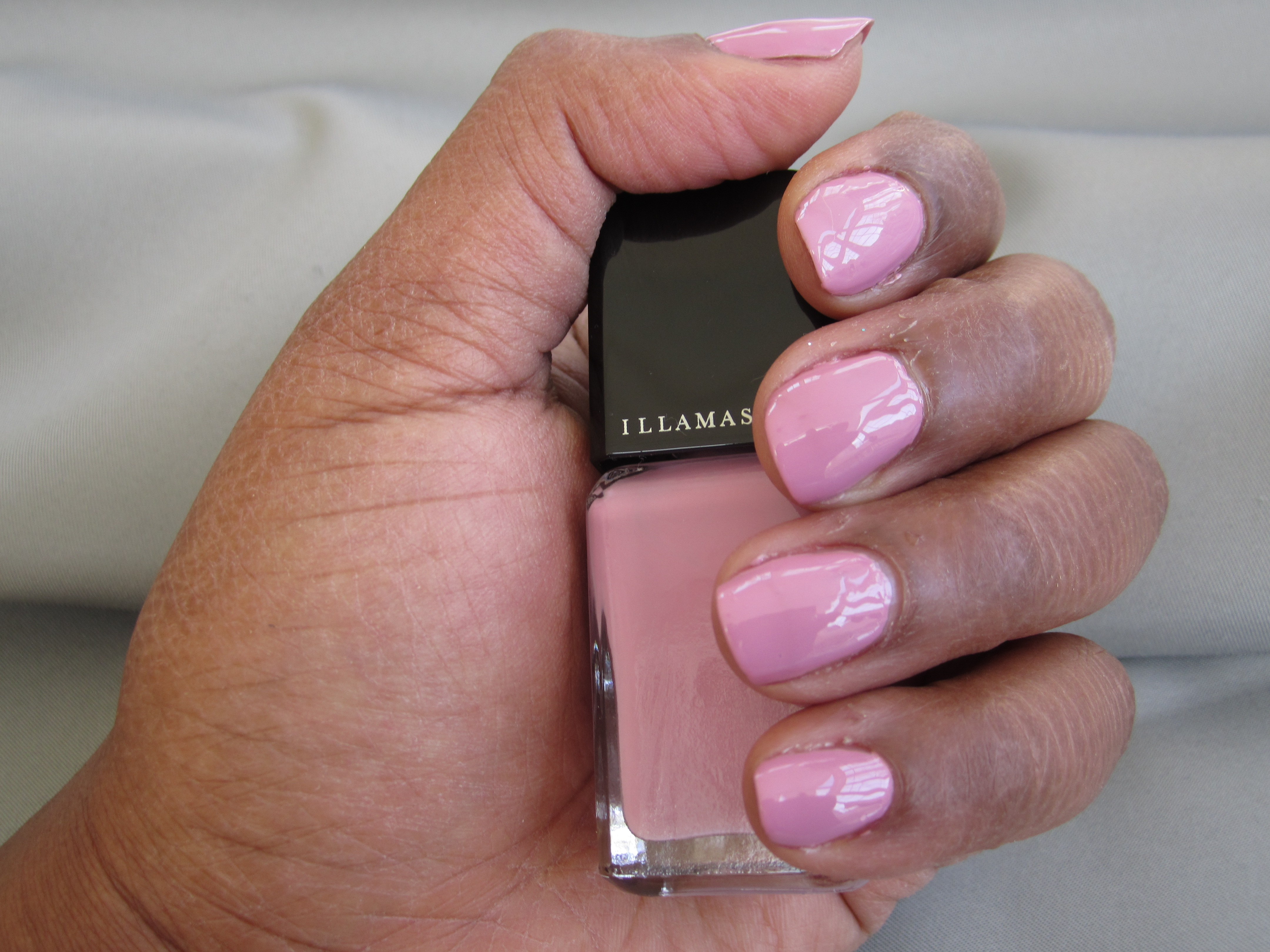 This Is A Quick Picture Of Jan On My Nails Two Coats With Favorite Top Coat Seche Vite I Would Another Illamasqua Polish
