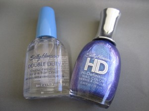 Sally Hansen HD nail polish DVD
