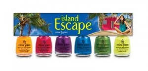 china glaze island escape