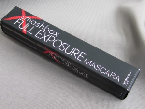 smashbox full exposure mascara in jet black