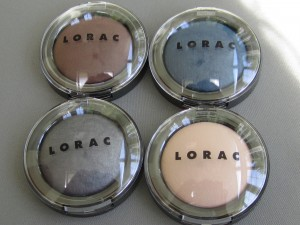 lorac baked matte satin eye shadow