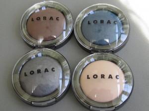 lorac baked matte satin eye shadow