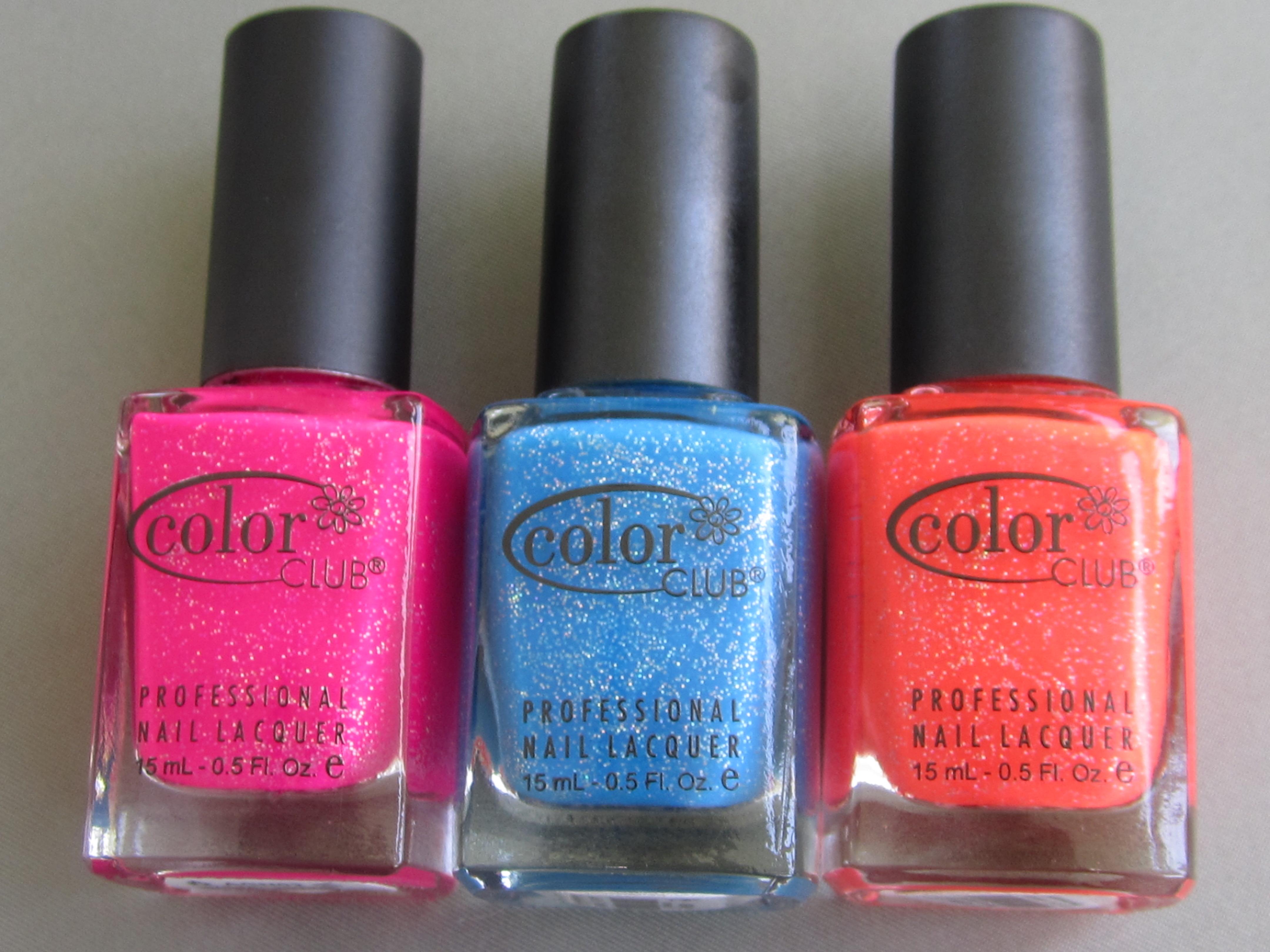 Color Club Nail Polish Haul ($3 a bottle)