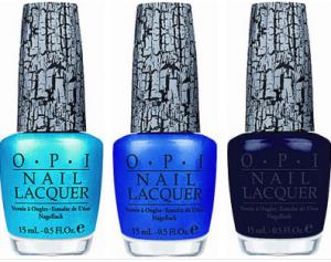 opi blue shatter polishes
