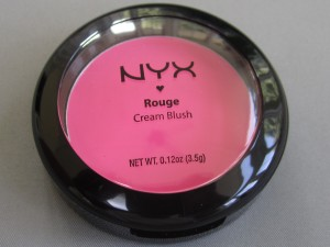 nyx rouge cream blush #08 hot pink