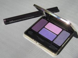 guerlain les violets palette and laura mercier plum caviar stick