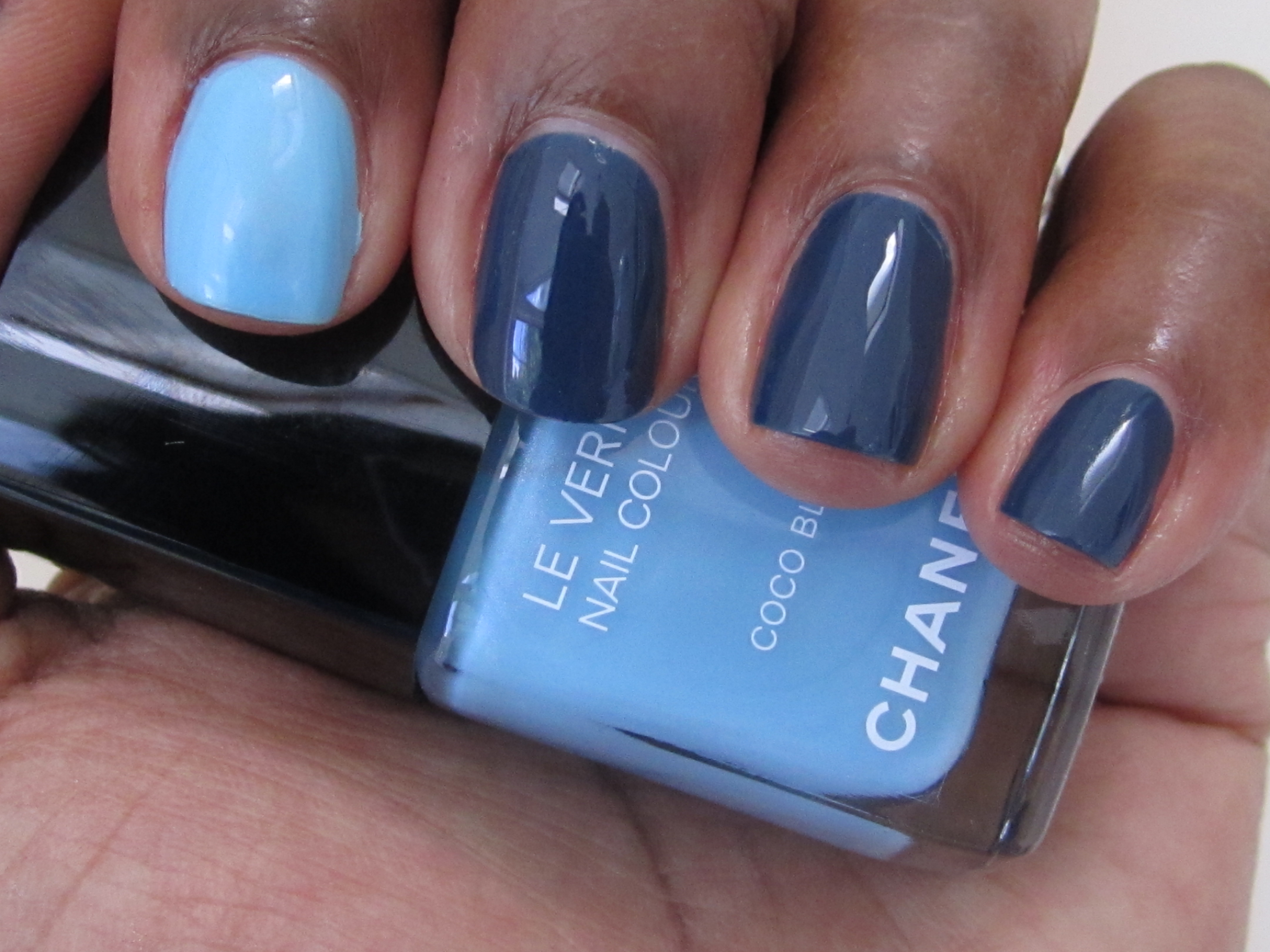 Chanel Blue Boy Nail Polish   Best Nail Designs 2018