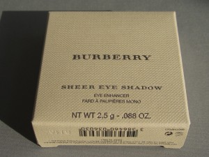 burberry midnight brown eyeshadow #21 box