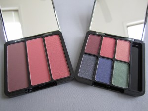 eve pearl sin-amon cheeks deep blush and diva eyes palette