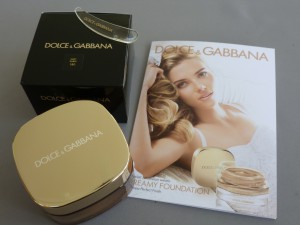 dolce & gabbana creamy foundation soft sable #180