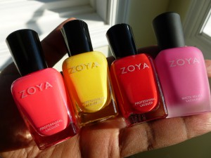 zoya ali pippa america and lolly nail polish