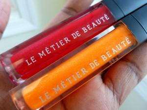 le metier hibiskiss and orange juiced gloss