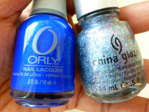 orly royal navy and china glaze liquid crystal