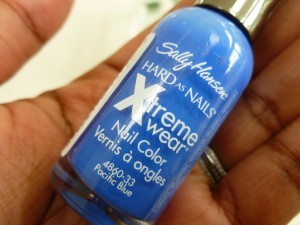 sally hansen xtreme wear pacific blue
