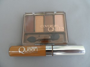 cover girl desert bronze quad and natural hue concealer