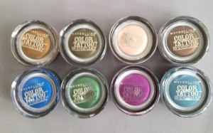LE Maybelline Color Tattoos