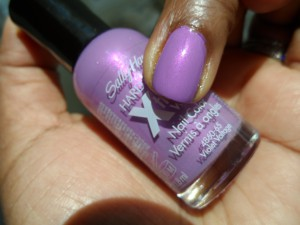 sally hansen violet voltage