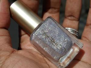 l'oreal silver sparkle nail polish