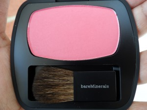 bare minerals the french kiss blush