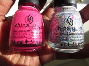 china glaze escaping reality and it's a trap-eze